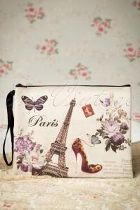 60s J'aime Paris Make-up bag