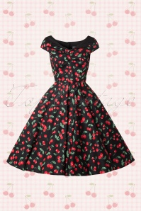 Bunny 50s Cherry Pop Swing Dress 104 14 14680 20150319 0003W   kopie