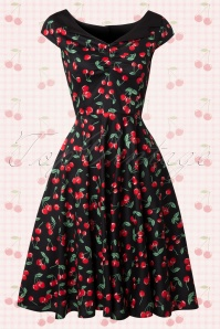 Bunny 50s Cherry Pop Swing Dress 104 14 14680 20150319 0012W