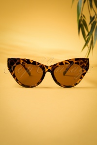50s Ida Retro Sunglasses in Tortoiseshell