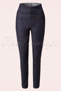 Rock Steady Clothing High Waist Skinny Jeans  131 30 15081 03272015 08W