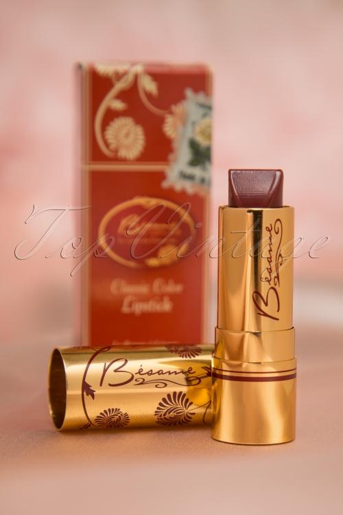 Besame Merlot Classic Lipstick 520 20 14987 20150330 003W