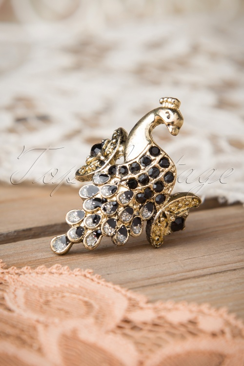 Rosie Golden peacock ring 321 91 15060 02282015 08W