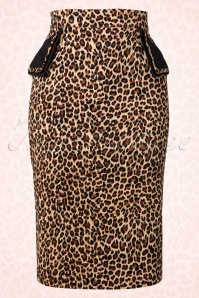 Banned Tori Leopard Pencil Skirt 120 79 14702 20150305 0005W