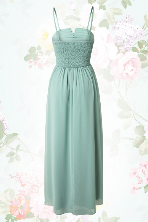 0ae8fbd772fefb Little Mistress Sage Floral Beat Embroidery Maxi Dress 108 40 15394  03272015 03W