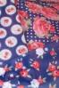 So Rainy Navy Floral Umbrella 270 39 15659 03082015 10