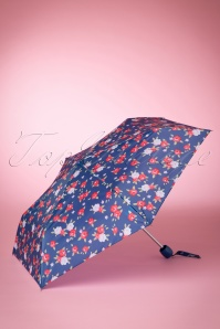 So Rainy Floral Navy Umbrella 270 39 15658 03082015 02W