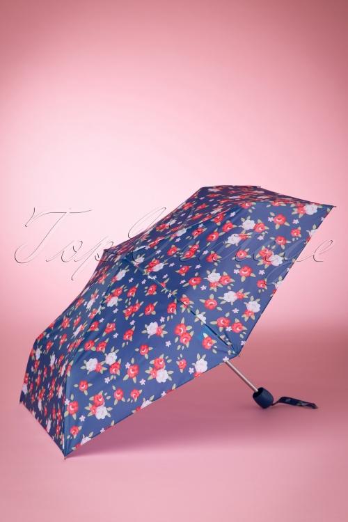 So Rainy Floral Navy Umbrella 270 39 15658 03082015 02W