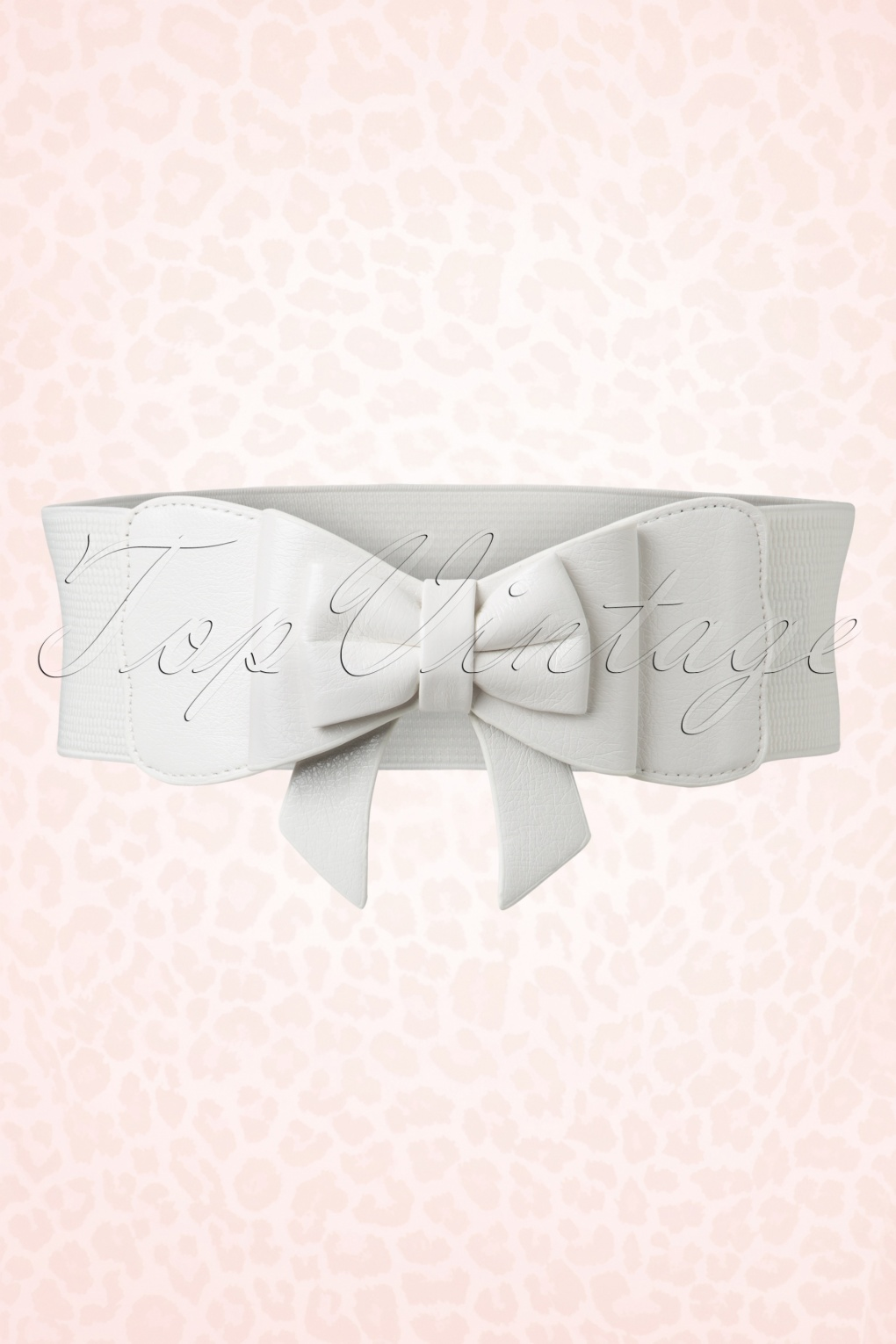 A History of Belts 1920-1960 50s Play It Right Bow Belt in White £24.95 AT vintagedancer.com