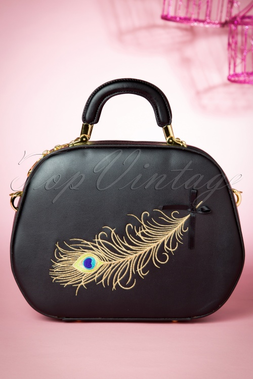 Banned No Trace Bag Black and Gold 212 10 14709 03102015 14W