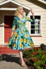 Pinup Couture Birdie Floral Swing Dress 102 39 15607 1
