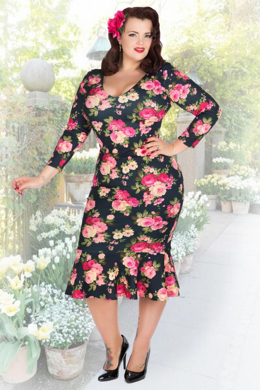 Retro 50s Plus Size Dresses