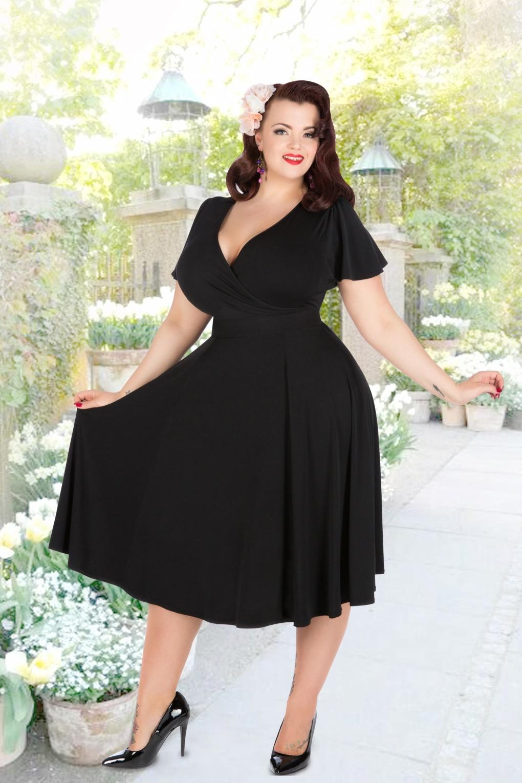 Vintage 50s Dresses Plus Size - Barrier Surveillance