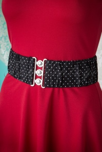 Bunny Black White Polkadots Belt 230 14 14864 03232015 004W