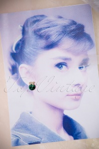 Collectif Clothing Emerald Earrings 330 40 15027 02282015 07W