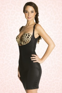 Full Slip Dress en Noir