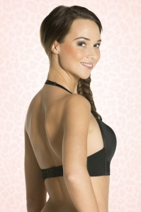 Magic Bodyfashion Deep V Bra Black 180 10 15874 02