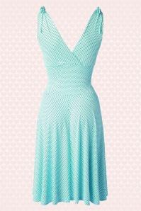 Vintage Chic 50s Grecian Mint Polkadot Dress 102 29 15666 20150521 0003gh