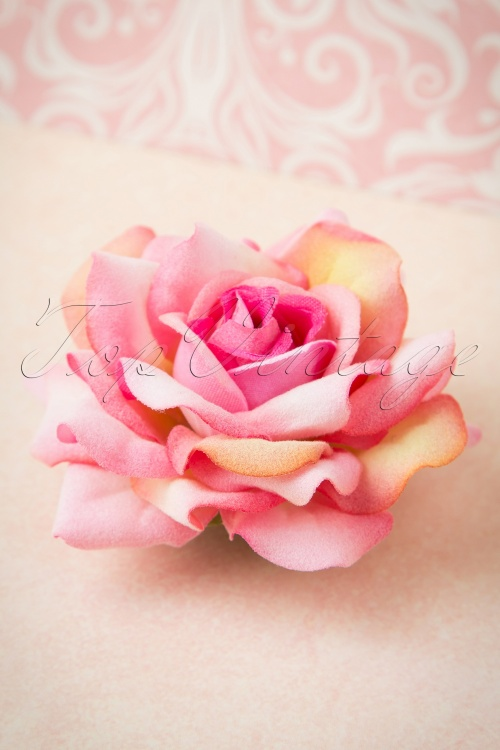 Collectif Clothing Ombre Hairclip Light Pink Rose 200 22 15030 05092015 01W
