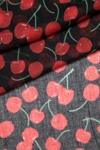 ZaZoo Cherry Scarf black 240 14 15922 05102015 06