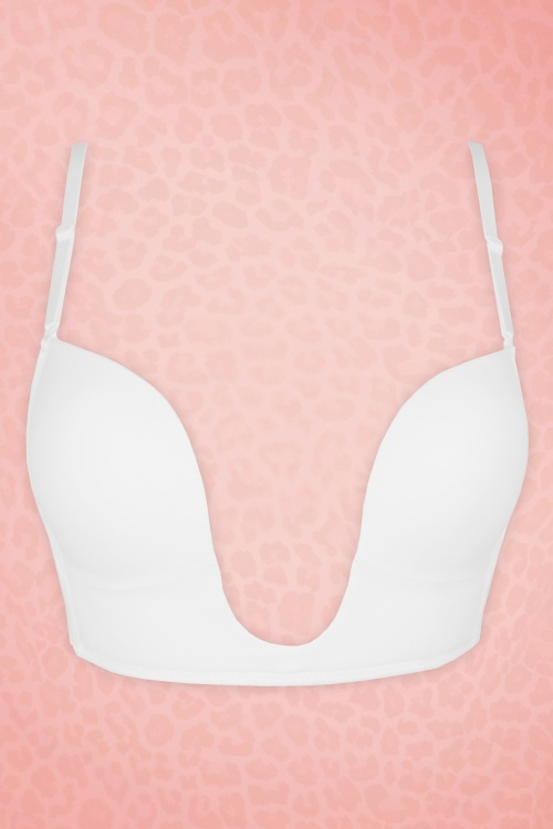 Magic Bodyfashion Deep V Bra white 180 50 16010 02