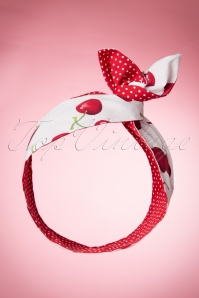 Be Bop A Hairbands White Cherry Hairband 208 59 15838 06162015 07W