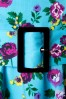 Vixen 50s Blue Retro Halter Floral Swing dress 102 39 10974 20150302 0006