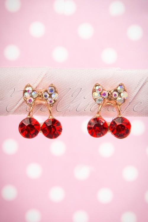 Lola Shiny Cherry Earrings 331 20 16001 06122015 09W