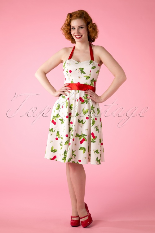 Hearts and Roses Cherry Dress White 102 59 10563 20150418 0004W