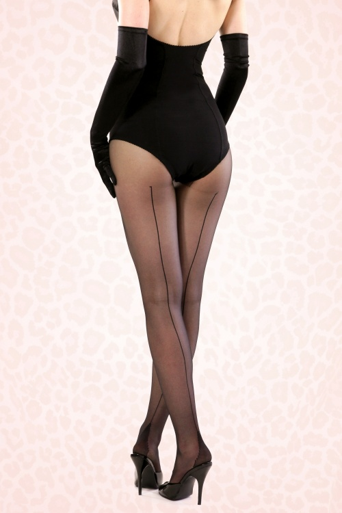 What Katie Did Retro Sheamed Tights 171 10 15958