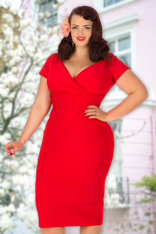 Lady Voloptuous Ursula in Red Red 100 20 15881 model02