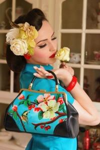 50s retro Handbag Blossom