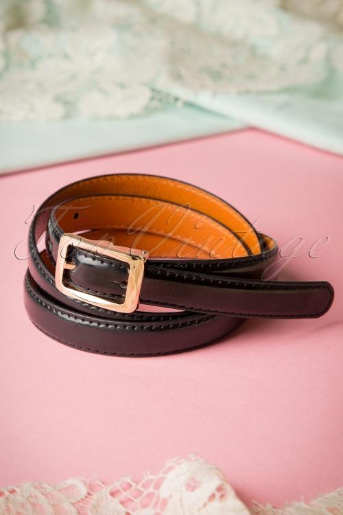 Collectif Clothing Martha Plain Black Belt 230 10 16232 07222015 03W