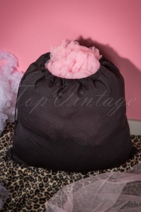 Petticoat Wash Bag in Black