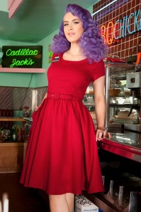Pinup Couture Katie Semi Swing Dress Red 102 20 16419 1