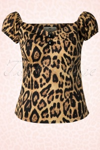 Collectif Clothing  Dolores Top Leopard 110 58 12761 20140226 0002W