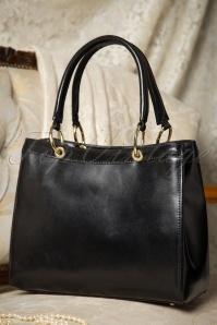 VaVa Vintage Black Handbag 212 10 16477 08052015 10W