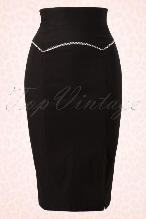 Steady Clothing  Yoked up Pencil black 120 10 11907 20131122 002W