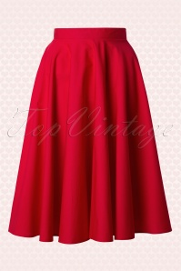 Bunny Red Swing Skirt 122 20 12049 20140601 0016W