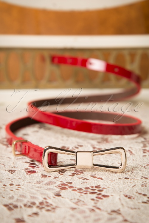 King Louie Belt Bow in Red 230 20 15716 08102015 04W