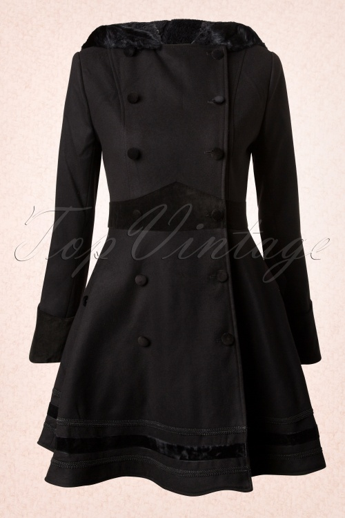 Bunny Mikaela Coat Black 152 20 13456 20140625 0005Wit