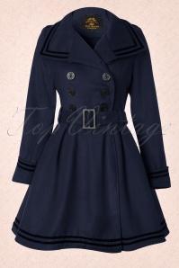 Bunny Millie Swing Coat Navy 152 31 11918 20130821 0005K