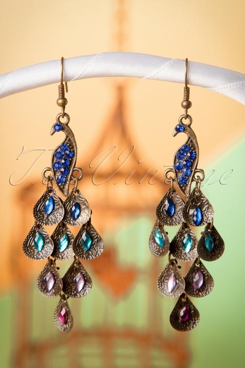 Lola Blue Peacock Earrings 333 91 16428 08132015 10W