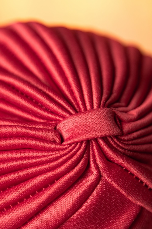 3e364d1bcf1 ZaZoo Plain Satin Hat Burgundy 202 20 16471 08102015 07