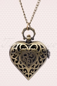 Montre Coeur pocket watch necklace