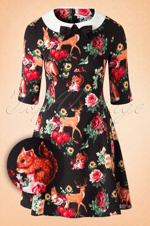Bunny Hermeline Mini Forest Animals Deer Squirrel Dress 102 14 16757 20150831 0004W