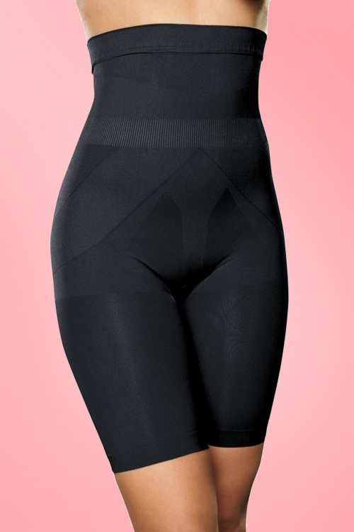 Trinny and Susannah The Bum Tum & Thigh reducer Black shapewear 10046