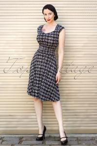 TopVintage exclusive ~ Bicycle Dress Black