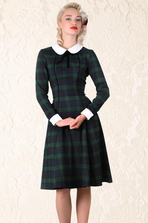 Lisa Doll Blackwatch Check Dress
