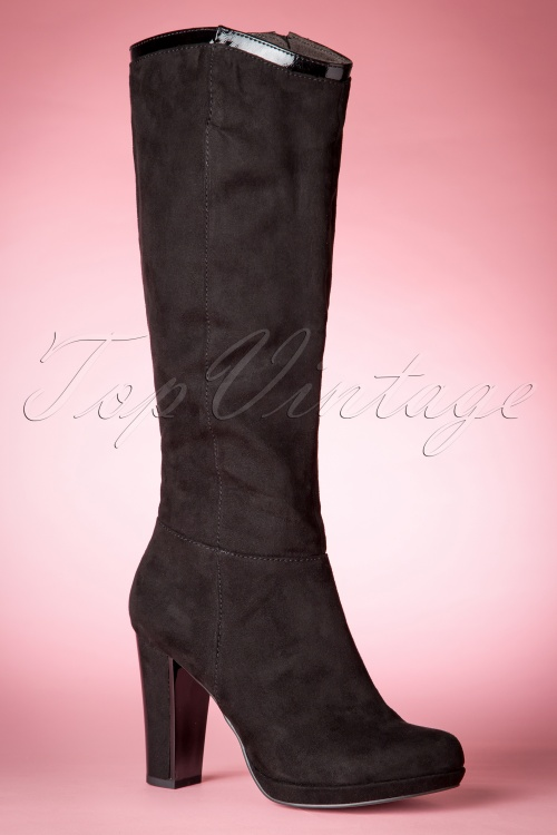 Tamaris High heeled boots - black i2cdY